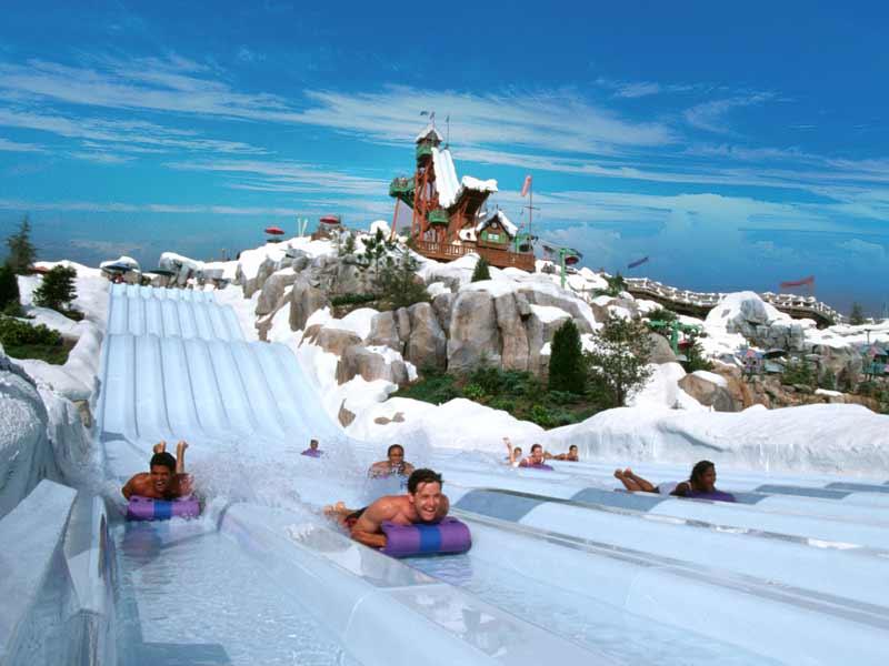 Parques da Disney em Orlando: parque Blizzard Beach da Disney