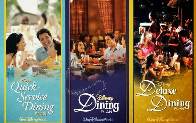 Plano de refeições Disney Dining Plan em Orlando: planos de refeições
