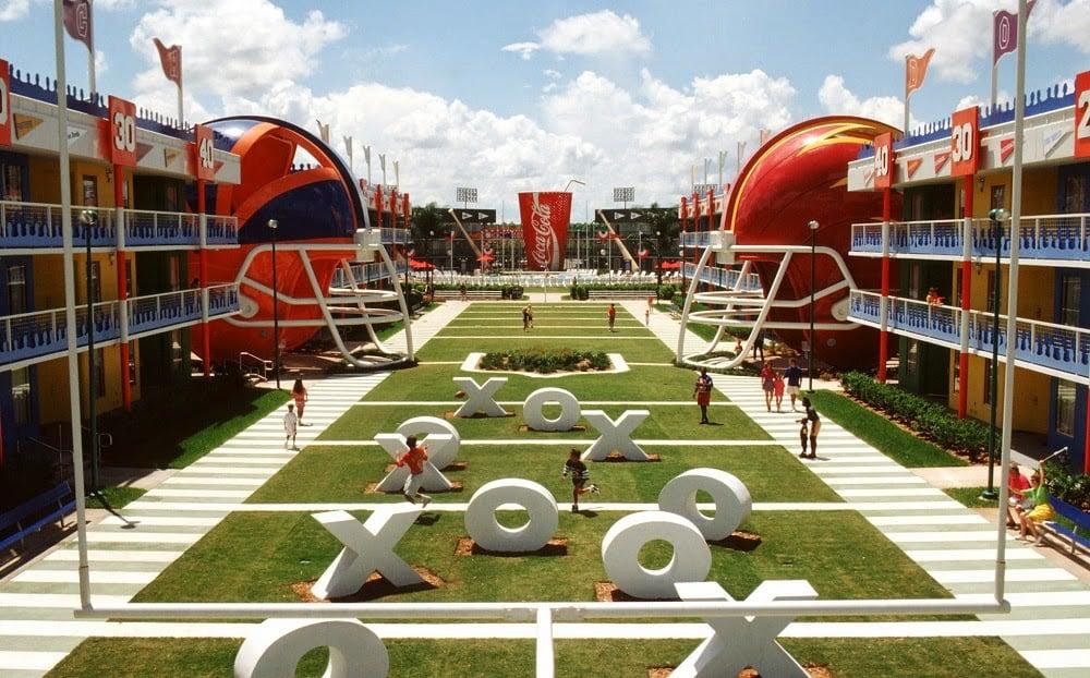 Hotéis da Disney em Orlando: Hotel Disney's All-Star Sports Orlando