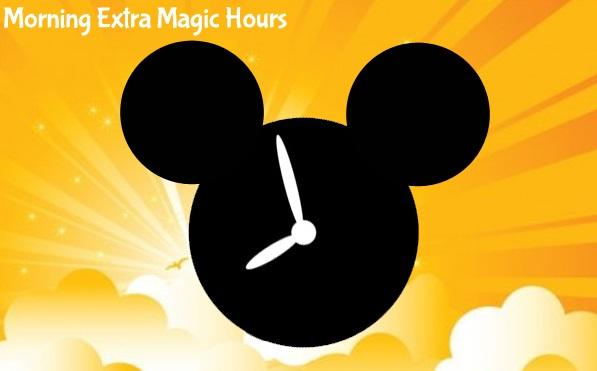 Extra Magic Hours da Disney