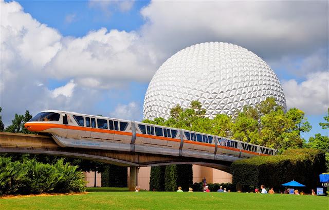 Os principais parques de Orlando: parque Epcot da Disney Orlando