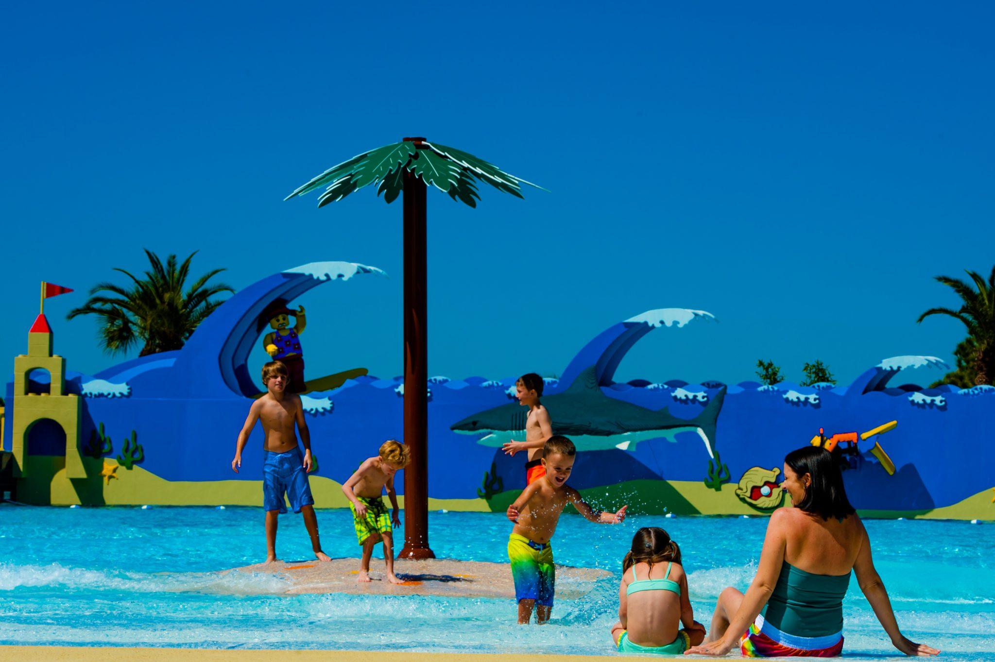 Parques aquáticos em Orlando: Legoland Water Park