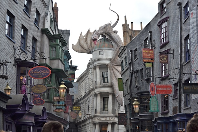 Parque Universal Studios Orlando: Harry Potter Diagon Alley (Beco Diagonal)