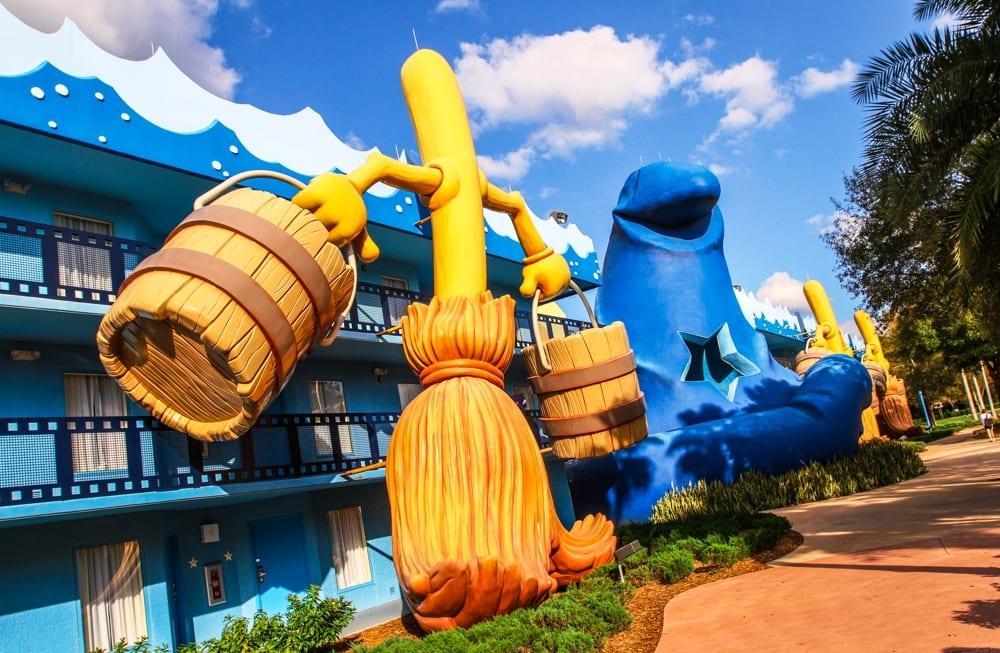 Descontos em hotéis na Disney Orlando em 2019