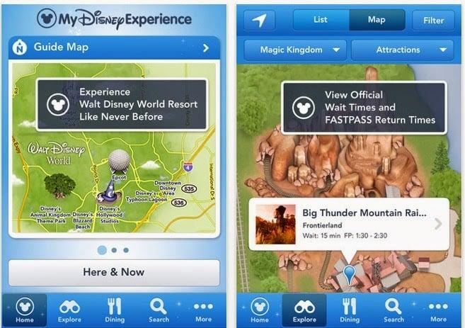 Parques da Disney em Orlando: Aplicativo Disney Experience da Disney Orlando