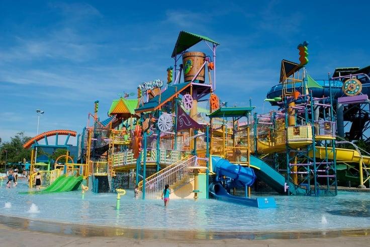 Os principais parques de Orlando: parque Aquatica em Orlando
