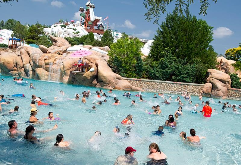 Parque Blizzard Beach da Disney Orlando: piscina