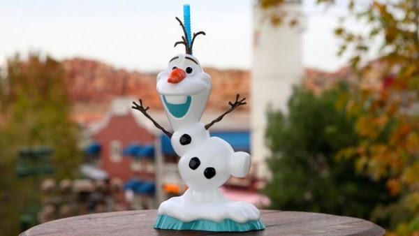 Sobremesas do Frozen na Disney Orlando: copo do Olaf - Olaf Premium Slipper