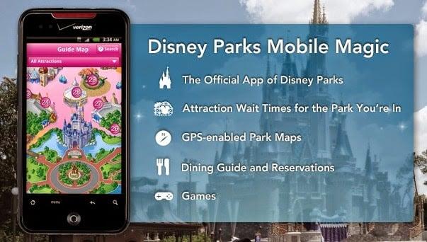 Aplicativo da Disney Orlando