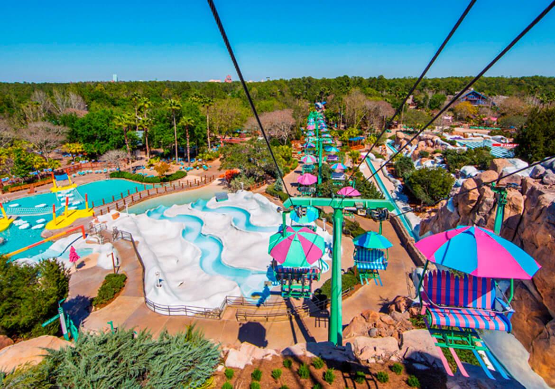 Parque Disney's Blizzard Beach em Orlando