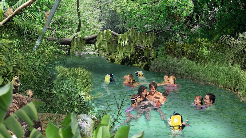 Parque Discovery Cove em Orlando: FreshWater Oasis
