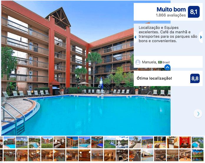 Hotéis bons e baratos em Orlando: Clarion Inn Lake Buena Vista
