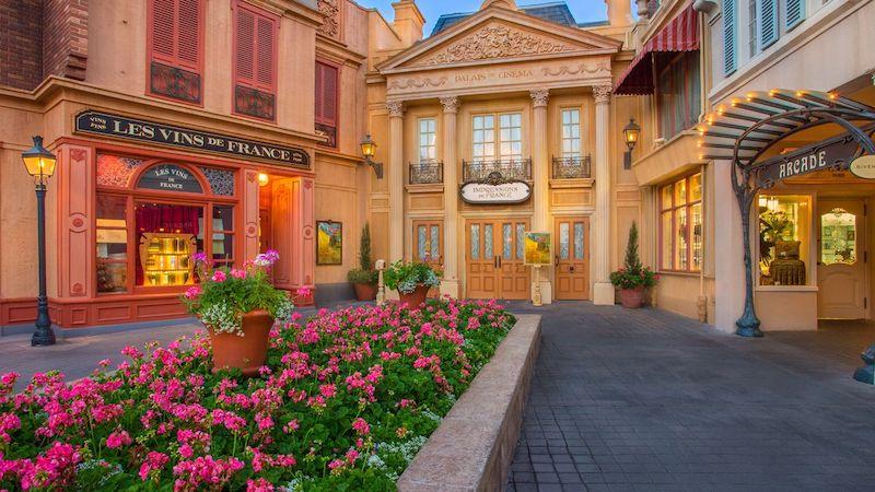 Parque Epcot da Disney Orlando: Impressions of France