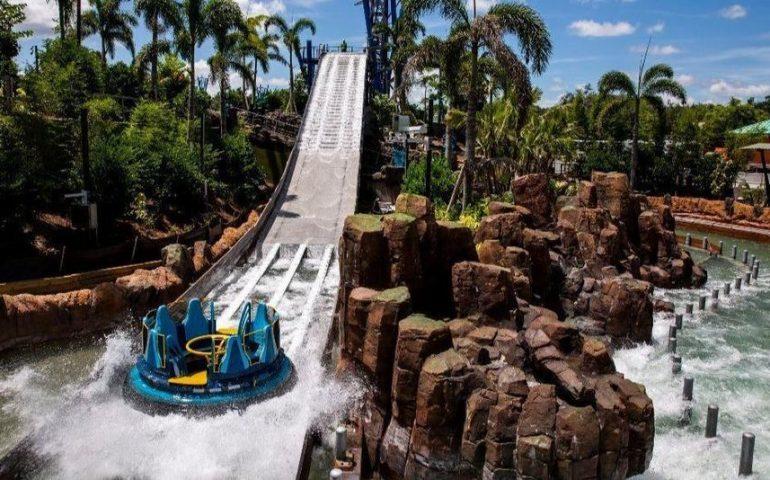 Parque SeaWorld em Orlando: Infinity Falls