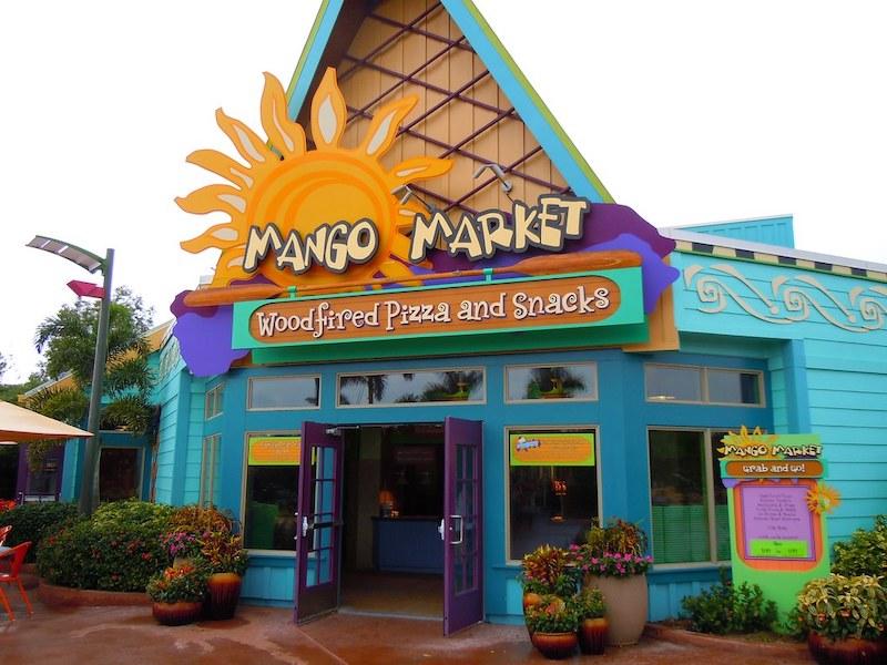 Parque Aquatica em Orlando: Mango Market