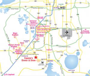 Onde ficar em Orlando: Mapa dos bairros e regiões de Orlando