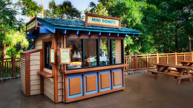 Parque Blizzard Beach da Disney Orlando: Mini Donuts