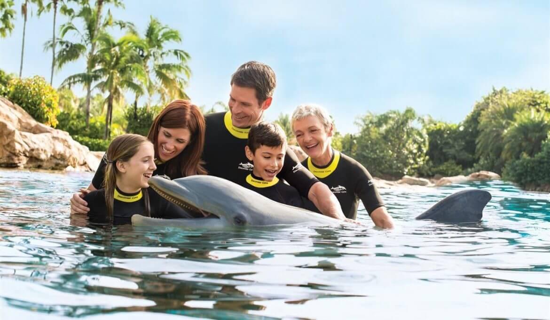 Parque Discovery Cove em Orlando