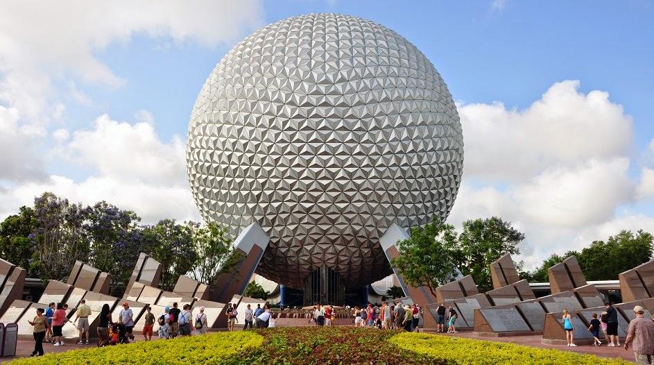 Spaceship Earth no Epcot da Disney Orlando