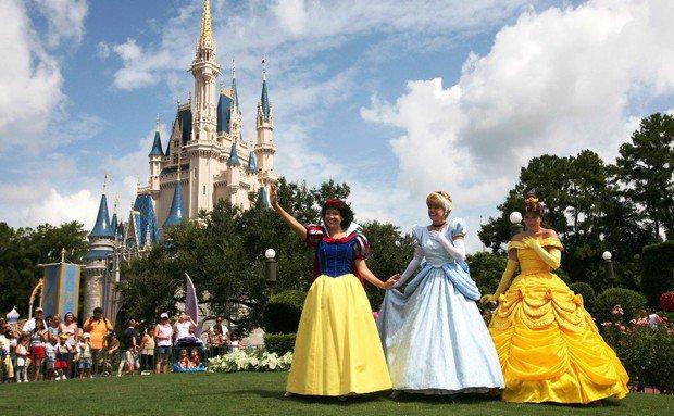 Os principais parques de Orlando: parque Magic Kingdom da Disney Orlando