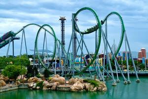 Os principais parques de Orlando: parque Islands of Adventure em Orlando