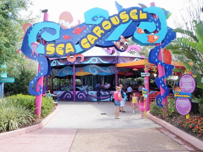 Parque SeaWorld em Orlando: Sea Carousel
