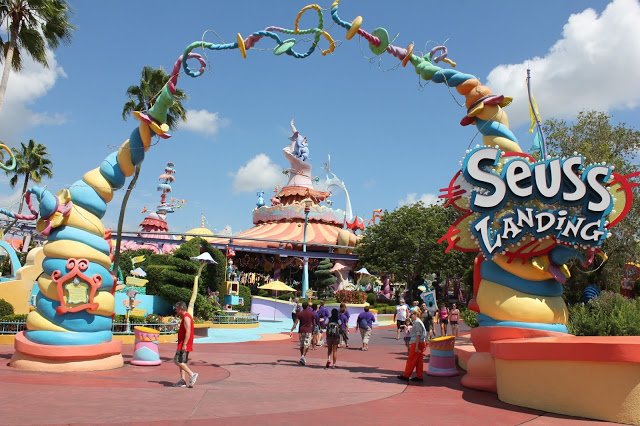 Parque Islands of Adventure Orlando: Seuss Landing