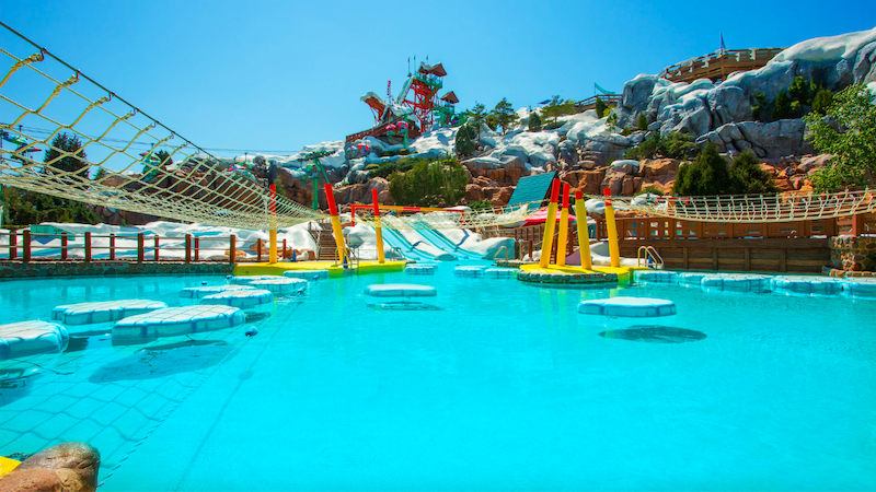 Parque Blizzard Beach da Disney Orlando: Ski Patrol Training Camp