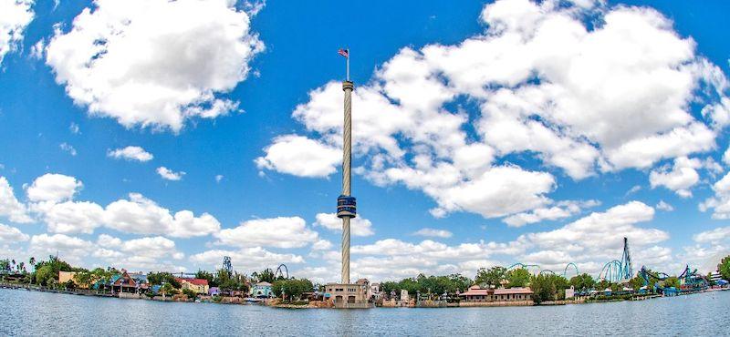 Parque SeaWorld em Orlando: Sky Tower
