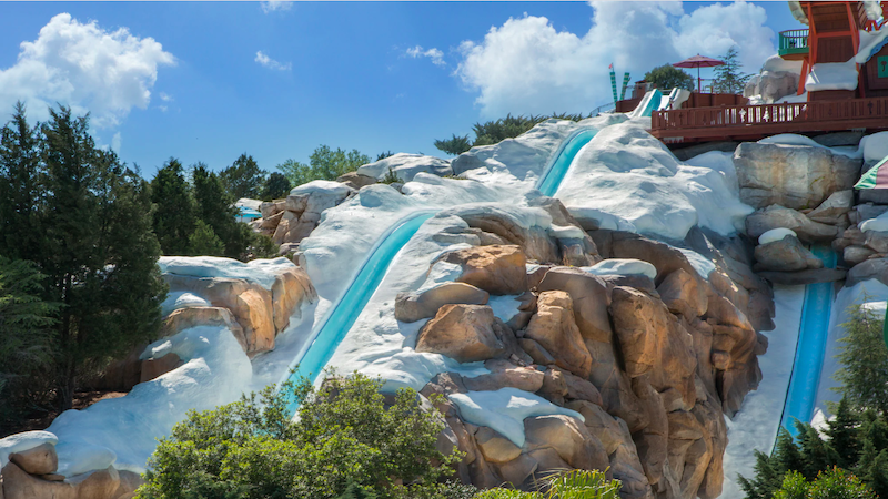 Parque Blizzard Beach da Disney Orlando: Slush Gusher