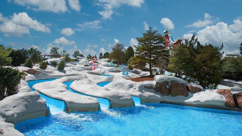 Parque Blizzard Beach da Disney Orlando: Snow Stormers