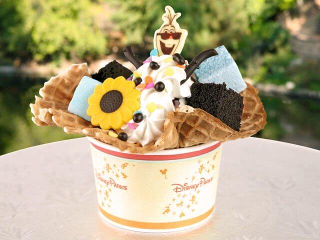 Sobremesas do Frozen na Disney Orlando