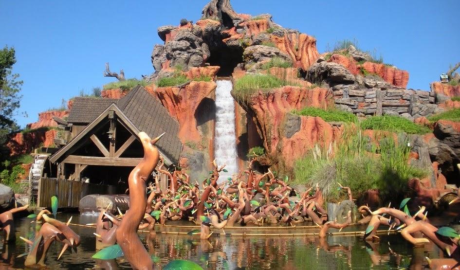 Brinquedos e atrações em manutenção em Orlando em 2020: Splash Montain no parque Disney's Magic Kingdom