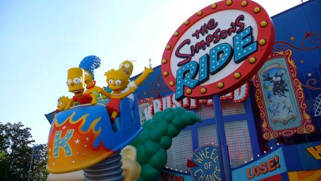 Parque Universal Studios Orlando: Os Simpsons