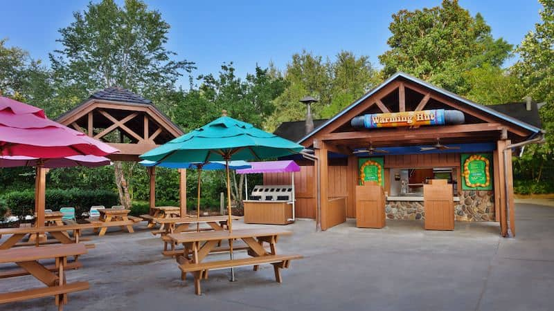Parque Blizzard Beach da Disney Orlando: Warming Hut