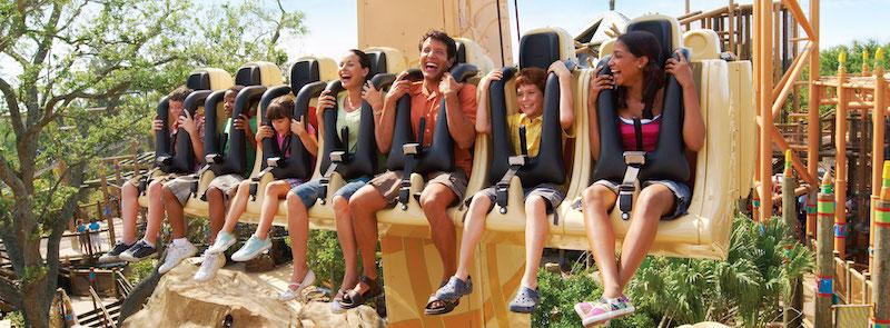 Parque Busch Gardens em Tampa: Wild Surge