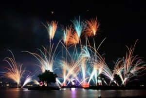 7 melhores parques temáticos de Orlando: Show IllumiNations do parque Disney Epcot