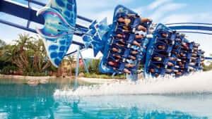 Como evitar filas nas principais atrações do SeaWorld Orlando: Manta