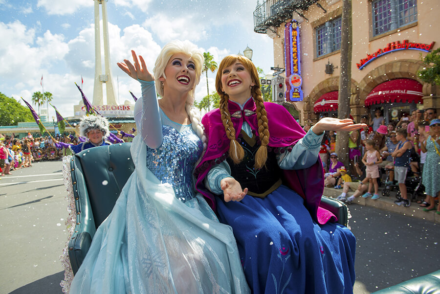 Frozen Summer Fun na Disney em Orlando 2