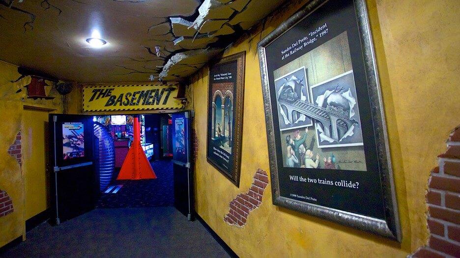 Museu WonderWorks em Orlando: atração Disaster Zone