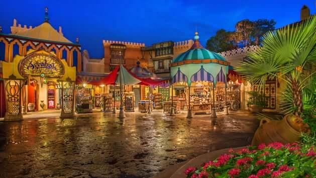 Loja Agrabah Bazaar na Disney 2
