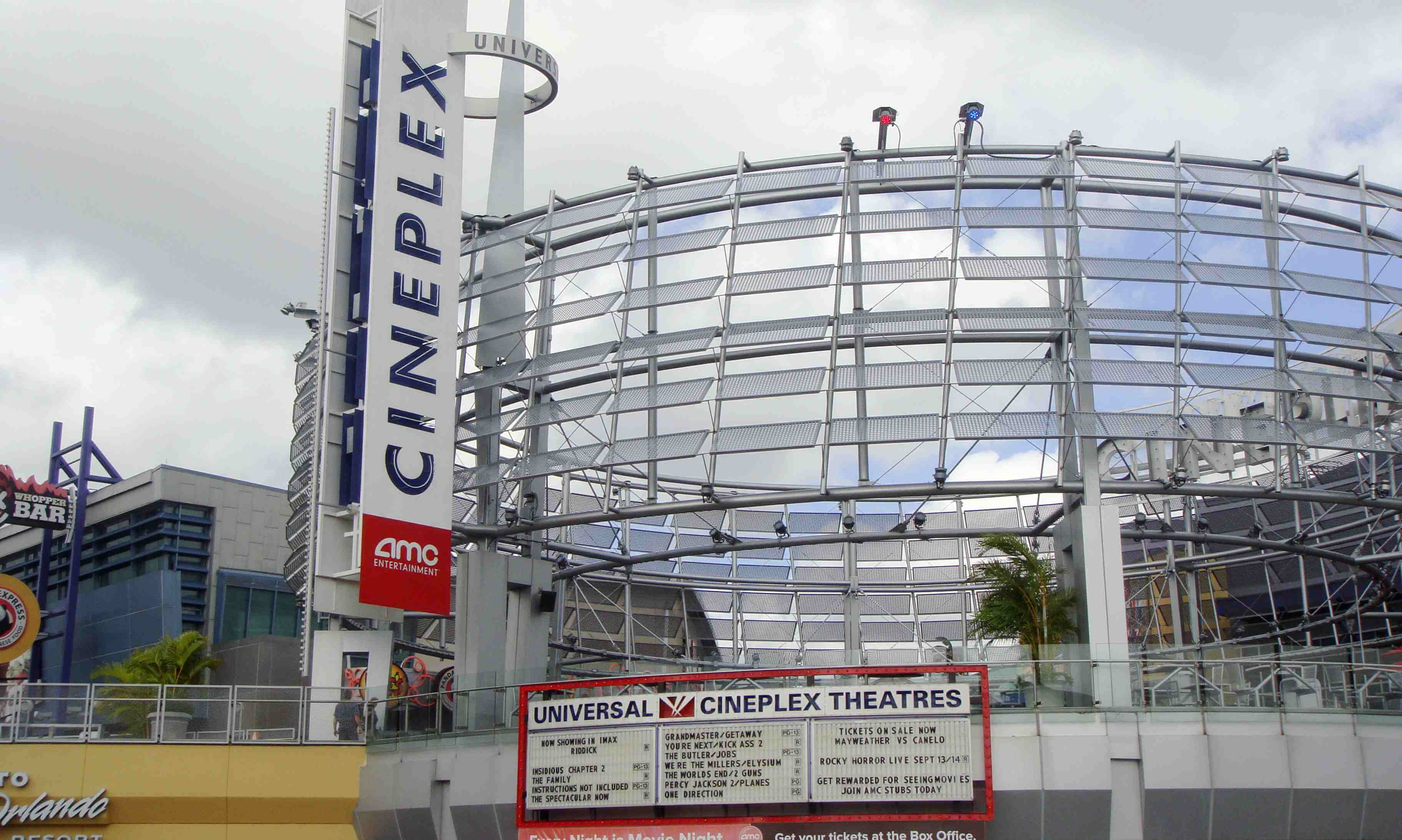 CityWalk Universal em Orlando: Cineplex
