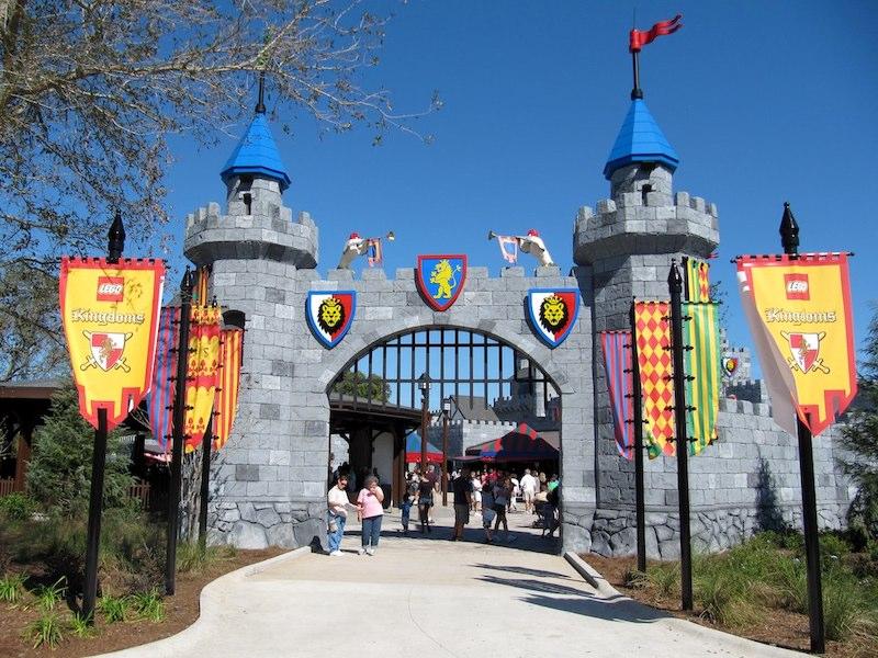 Parque Legoland da LEGO em Orlando: LEGO Kingdoms