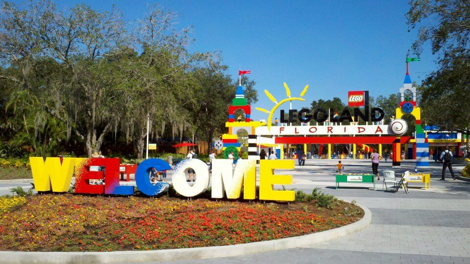 Parque Legoland da Lego Orlando