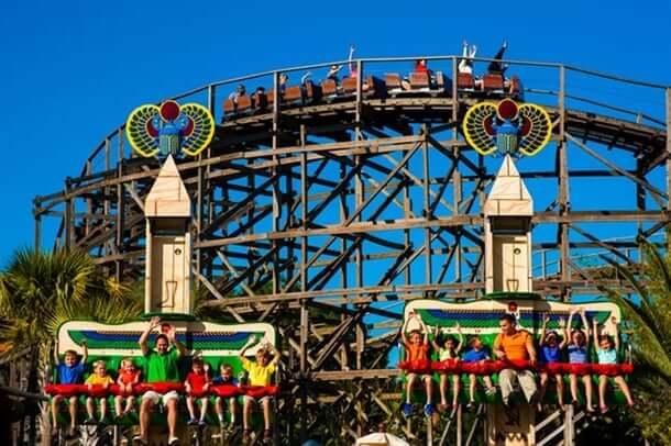 Parque Legoland da Lego Orlando: áreas Duplo Valley e Fun Town
