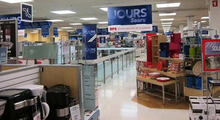 Lojas de departamento em Orlando: Sears
