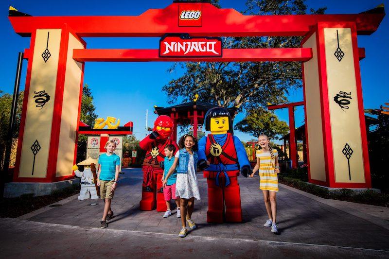 Parque Legoland da LEGO em Orlando: Ninjago World