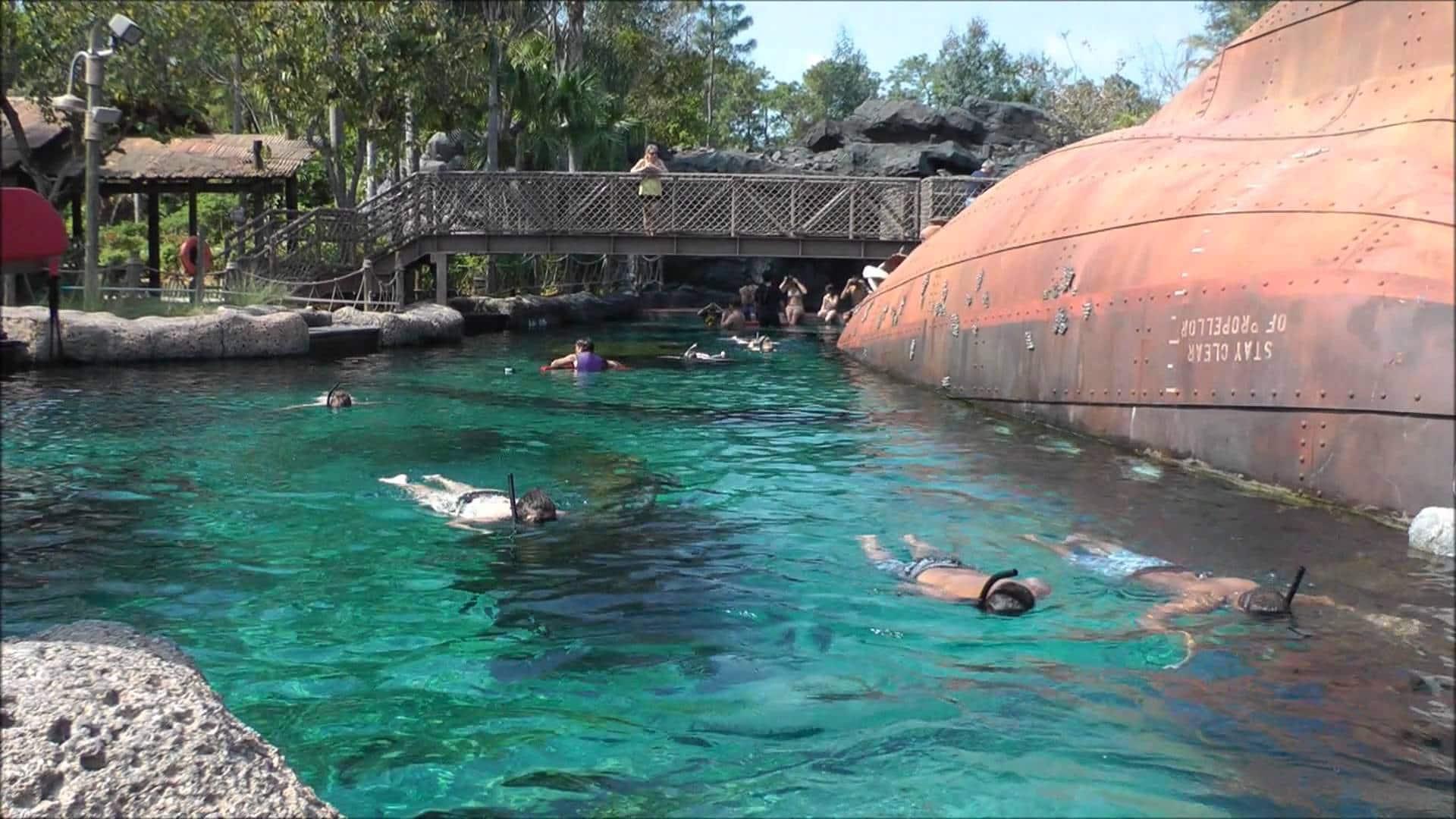 Clima e temperatura em Orlando: parque aquático Typhoon Lagoon