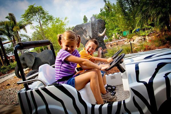 Parque Legoland da Lego Orlando: área Land of Adventure