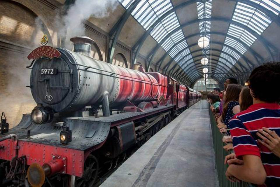 Beco Diagonal do Harry Potter em Orlando: trem Hogwarts Express